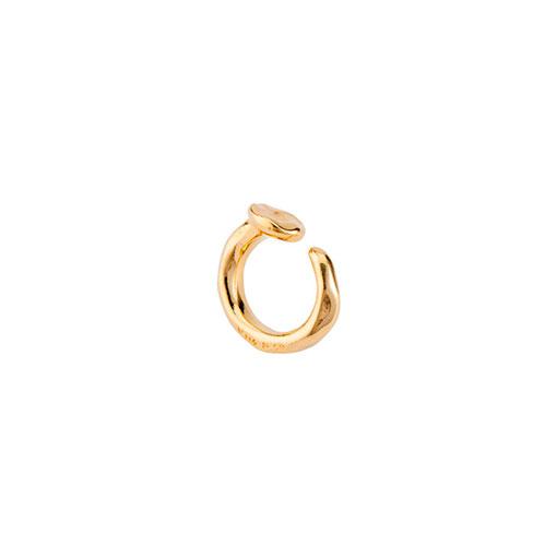 anillo clavo dorado