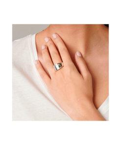 anillo plata mano mujer uno de 50