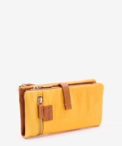 billetera amarilla abbacino