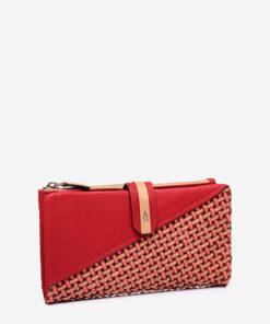 billetera roja rafia abbacino