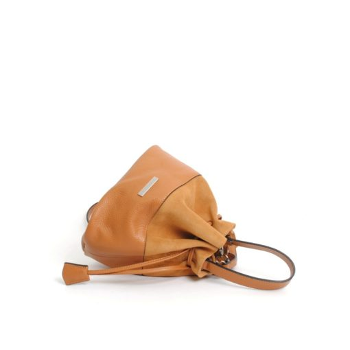 bolso judas piel ante camel