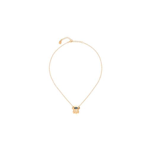 collar lagrimas dorado uno de 50
