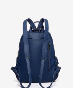 mochila azul trasera abbacino