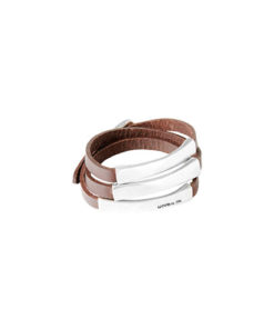 pulsera blackout marron uno de 50
