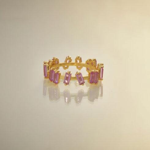 anillo pink sapphire