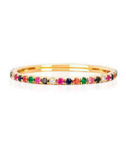 anillo rainbow gold kommo