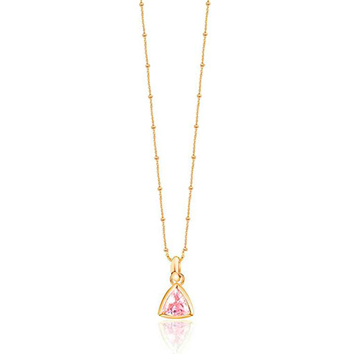 collar jasmine rosa