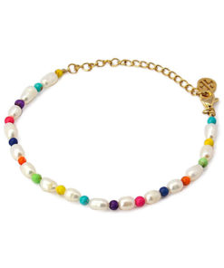 pulsera perlas color anartxy