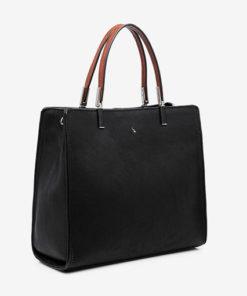 bolso lady en negro de la marca abaccino
