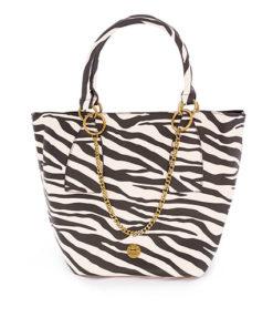 bolso shopping zebra de la marca martina k
