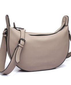bolso trendy anser de la marca abaccino, con diseño original y estilo bandolera en color taupe