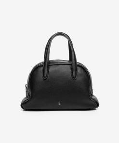 bolso trendy en color negro de la marca abbacino