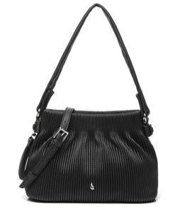 bolso trendy rallus de la marca abaccino, con rayas estampadas discretas y asa bandolera, perfecto para cualquier ocasión