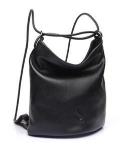 bolso trendy strepera de la marca abaccino con asas finas, multifunción conviertiendose en mochila