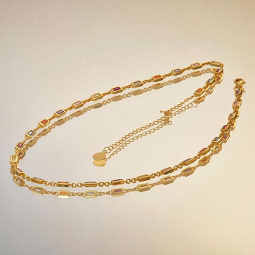collar ambrosía gold de la marca kommo