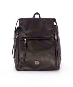 mochila y bolso sport en color negro de la marca martina k