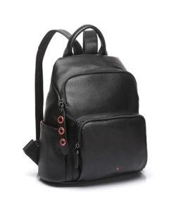 mochila trendy apus de la marca abaccino, sencilla con gran capacidad y bolsillo en su parte delantera