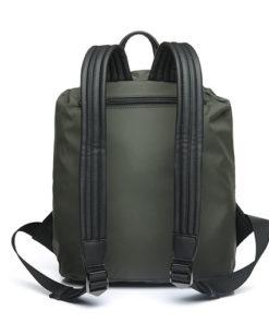 mochila trendy flava de la marca abaccino por la parte superior, con tiras anchas y muy cómodas
