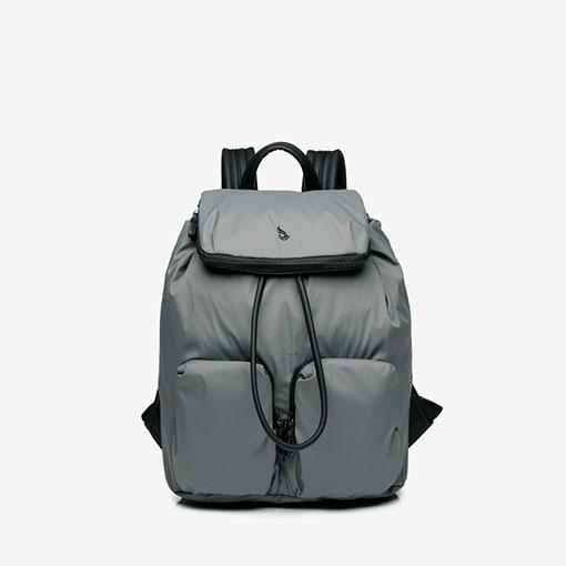 mochila trendy flava en color gris de la marca abbacino