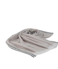 pasmina lisa unicolor de tacto suave de la marca zarucho