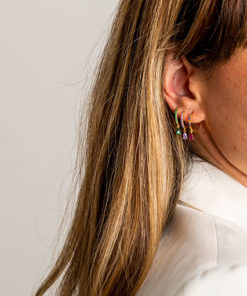 pendientes tear colors de la marca kommo en modelo