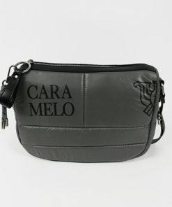 bolso de la colección sofía en color gris de la marca caramelo