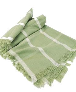 bufanda verde de la marca pieces