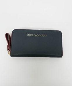 cartera alexandra en color gris de la marca don algodón