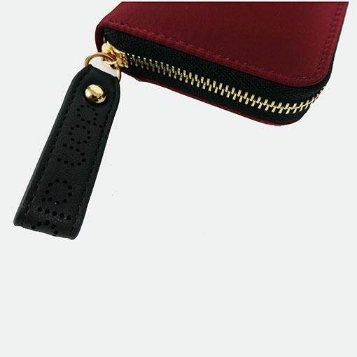 cremallera de la cartera alexandra de la marca don algodón