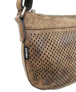 lateral del bolso colmena de la marca privata