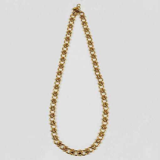 cadena florence en dorado