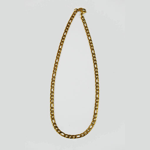 cadena milano en dorado