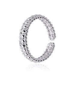 anillo triple line silver de la marca anartxy