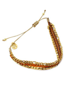 bracelet double chain de la marca anartxy