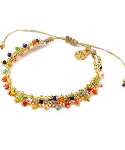 pulsera colorful beads de la marca anartxy