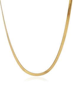necklace snack gold tipo one de la marca anartxy