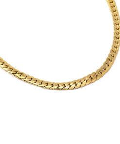 necklace snack gold tipo three de la marca anartxy