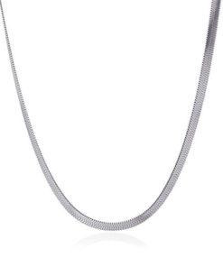 necklace snack tipo one silver de la marca anartxy