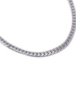 necklace snack silver tipo three de la marca anartxy