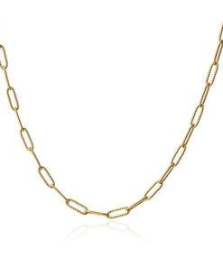 oval chain necklace de la marca anartxy