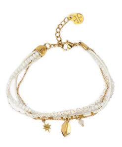 pulsera reine en color blanco de la marca anartxy