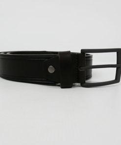 cinturon marron de piel de la marca privata