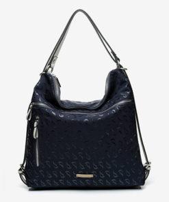 bolso jacquard de la marca abbacino en color azul
