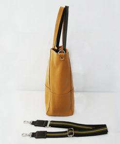 lateral del bolso cabiria de la marca ferchi