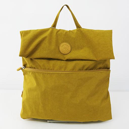 mochila aloha en color amarillo de la marca bensan