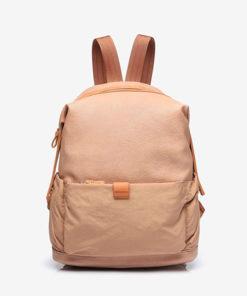 mochila trendy abbacino en color kamel de la marca abbacino