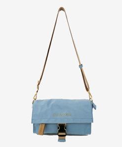 bolso kos en color azul de la marca don algodon