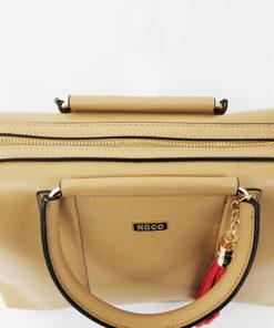 detalle del bolso symi de la marca noco complementos