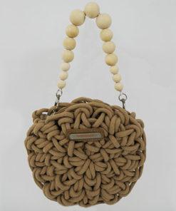 bolso cavallet en color camel de la marca simó sastre