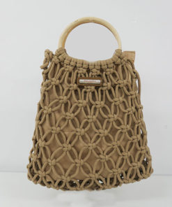 bolso portinatx en color camel de la marca simó sastre